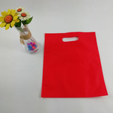 Cheap recycled nonwoven die heat seal eco-friendly d cut non-woven bags factory