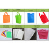 Promotional heat seal eco-friendly recycle pp non-woven tote shopping bag