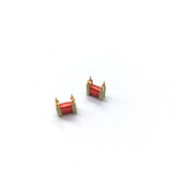 Custom Bobbin Inductor coil 4 Pin Plastic Bobbin Coil for Audio Device