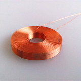 custom access control machine application self bonded Enameled copper air coil inductor coil