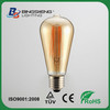 ST64 Amber LED filament lamp