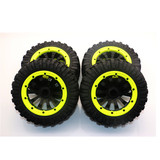 30°N thirty degrees north 1/5 scale gas power rc truck 5T DTT rc car parts All-terrain tires (Vehicle parts) No:69032