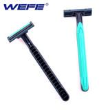 Disposable razor twin blade razor