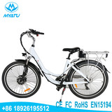 2018 New Style 36V10AH E bike Electronical City Bike With Pedals Assistant For Wowen