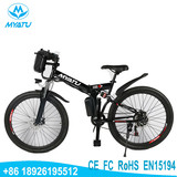 Cheap 350W 500w city e-bike/36V ebike/electric mountain bicycle with LED