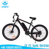 Made in China Cheap 26''/ 27.5'' mountain ebike with lithium battery 36V10AH electric bicycle