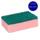 Composite nano PU scouring pad for cleaning stainless steel