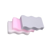 wholesale price melamine foam kitchen cleaning wave shape