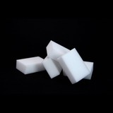 High density compressed melamine sponge