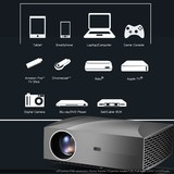 Brand new inProxima LCD projector F30, FHD native 1920x1080 resolution with high bright more than Portable projector