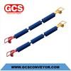 polyethylene conveyor roller idler of China /heavy duty conveyor mining idler trough grooved conveyor roller