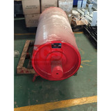Factory real shot  Redirection drum / bend pulley for coal mining industry/customized polyurethane belt conveyor pulley drum
