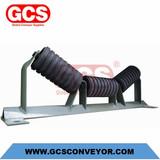 conveyor idlers  rubber-disc-conveyor-impact-roller-set