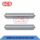 PP non drive gravity roller light duty rollers