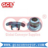 Conveyor Idler Bearing Housing Labyrinth Sealing Hardware Parts Stamping Accessories  roller end cap