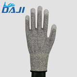 Protection work gloves white PU coated safety hand gloves