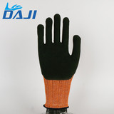 Full finger fire proof firefighter safety work gloves