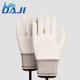 Accept custom 13G level 5 white cut resistant gloves