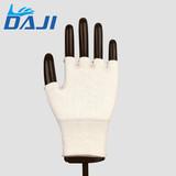 13 gauge half finger cut resistant working gloves