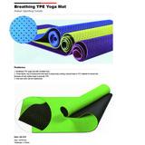 Breathing TPE Yoga Mat