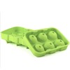 silicone ice cube ball mold ice cream ball tray