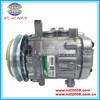 SD 7B10 Ac compressor For MINI EXCAVATOR For YANMAR SANDEN 7189