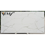 161123 Custom natural marble floor calacatta gold polished white quartz slab