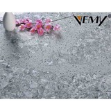 VM-1219 Strong and good quality gray color artificial calacatta quartz slab