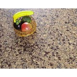 VM-9008 Medium sized particles brown marble quartz stone price for top dining tables