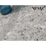 VM-17335 High quality artificial panel Polished White artificial quartz slabs,calacatta quartz stone