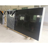 VM-A204 Pure black color Stone Form Artificial Stone Type quartz solid surface