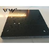 2112 Black sparkle color Stone Form Artificial Stone Type quartz solid surface