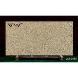 VM-2934 Kitchen countertop, artifical quartz slab with good price