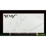 VM-17429 Best price artificial white marble Calacatta stone,Big slab countertop quartz