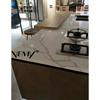 VM-17415 Vemy Calacatta white marble stone,kitchen countertop surface