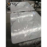 VM-18111 Guangdong factory directly sell Artificial Calacatta White Quartz Marble Slab