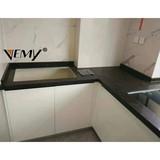 VM-18516 decorative stone countertop panels, artificial quartz stone