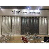 Vemy New design High Quality Artificial White Calacatta,carrara,quartz Stone,countertop surface