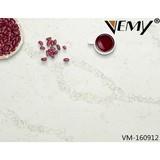 VM160912 Vemy New style calacatta black engineered quartz stone for Interior design
