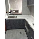 VM 17415 New design color, High Quality Artificial White Calacatta,countertop surface