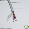 multi 5 core ecg cable lead wire used for ecg trunk cable by toloswire
