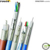RG59 Coaxial Cable + 2 Cores 18AWG / 22AWG Power Cable Siamese coaxial Cable for 75ohm TV Security Camera