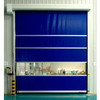 PVC curtain High Speed Fabric Garage Door