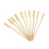 Bamboo Paddle Pick Skewer 105mm- 100 Pcs Pack