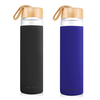 600ML BOROSILICATE GLASS BOTTLE WITH BAMBOO LID