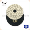 4-inch flexible diamond buff polishing pad for stone
