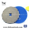 4 inch  granite ,quartz,marble stone dry polishing pad