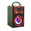 Selling good 4 inch trolley speaker with display screen for karaoke speaker with TF card FM radio sound box