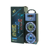Big Promotion Portable Speaker 2018  Best Gift for Christmas High Quality Wireless Mini Audio Multimedia System LED Light