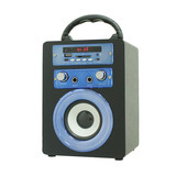 Outdoor Mini OEM Design Mutiplemedia Speaker Wireless Portable System Good Voice and FM Radio for Gift
